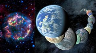 W kosmosie więcej planet niż gwiazd