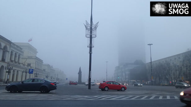 Smog wisi nad Warszawą Lech Marcinczak, tvnwarszawa.pl
