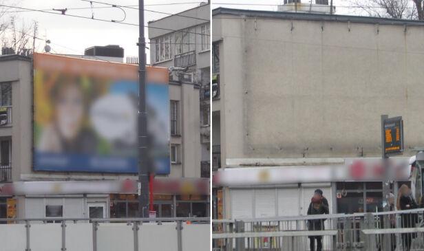 ZDM usuwa nielegalne reklamy  ZDM