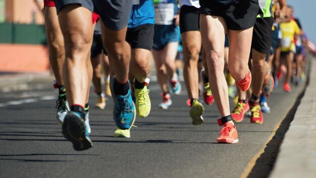 Runbertów, Bieg z Radością, Masa #9. Sportowcy w trzech dzielnicach