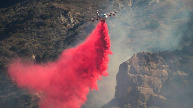 Pożary szaleją w Kalifornii. Ten sezon jest jednak wyjątkowo spokojny