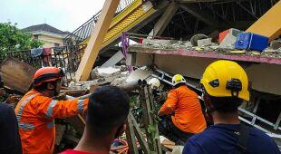 Trzęsienie ziemi na indonezyjskiej wyspie Celebes