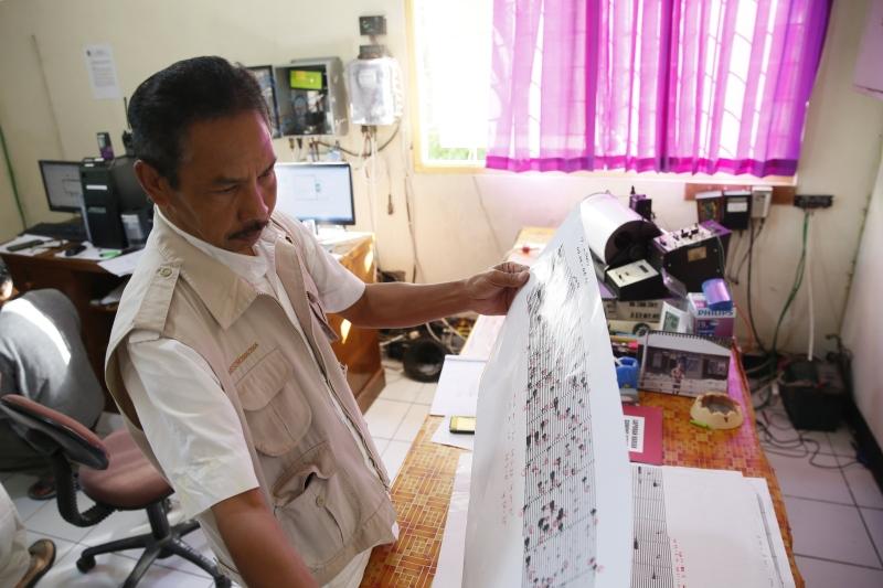 Aktywność sejsmiczna na Bali wzrosła (PAP/EPA/MADE NAGI)