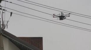 W Pabianicach drony kontrolują jakość powietrza