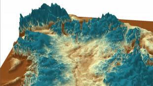 Kanion wielki jak przełom Kolorado odkryty pod lodami Grenlandii