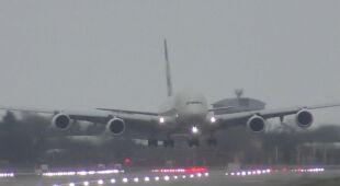 Trudne lądowanie na Heathrow