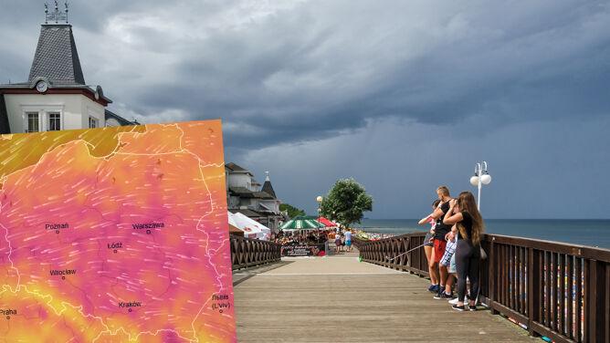 Początek września z pogodową zmianą. <br />Deszcz, możliwe burze z gradem