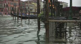 Aqua alta w Wenecji