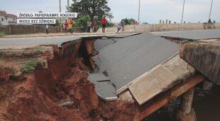 Zniszczenia po ulewach w stołecznym regionie Angoli
